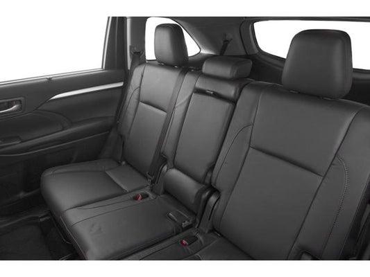 Toyota Highlander Seating >> 2019 Toyota Highlander Xle Roseville Ca Toyota Dealership Near
