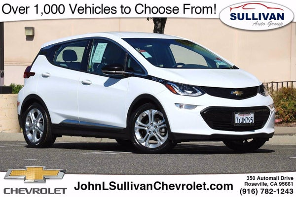 2017 Chevrolet Bolt Ev Lt Roseville Ca Chevrolet Dealership Near Sacramento Folsom Elk Grove California 1g1fw6s08h4161914
